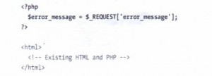 Creating a PHP Error Page