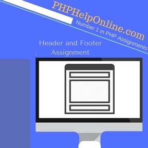 Header and Footer Assignment Help