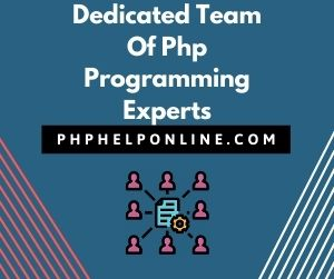 Dedicated Team Of Php Programming Experts