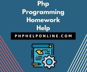 Php Programming Homework Help